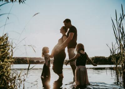 Rodinné focení u vody